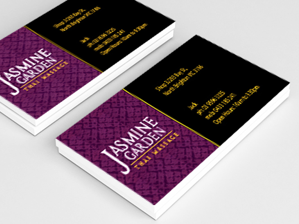 Business cards design business card design and printing graphic thai massage business card design reheart Choice Image