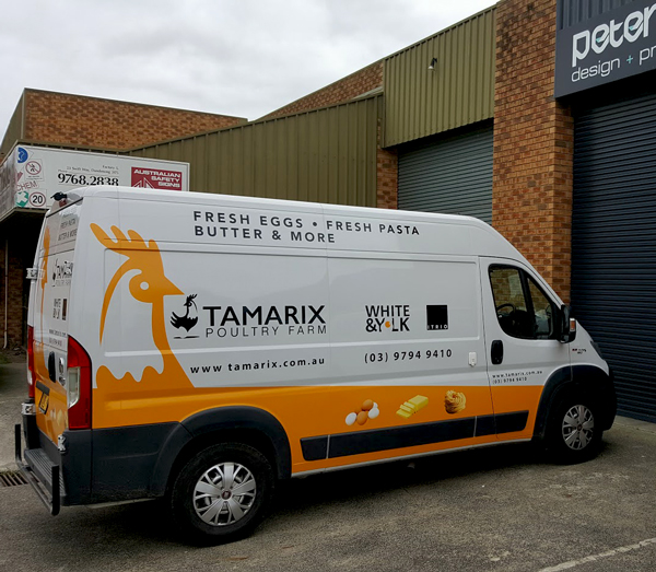 Dandenong Vehicle Wraps - Custom vehicle graphics.